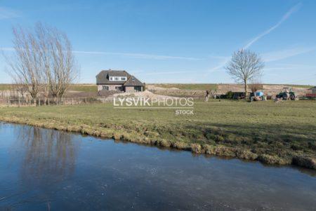 Polderlandschap Nieuw-Lekkerland