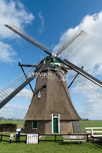 Achtekant molen
