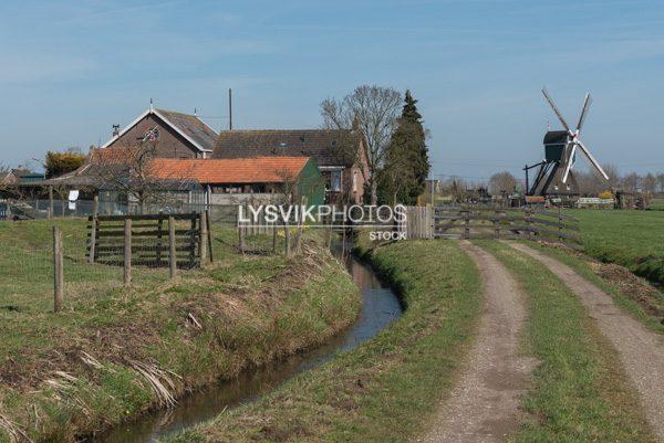 Floris V-pad bij Bleskensgraaf