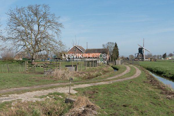 Het Floris V-pad bij Bleskensgraaf