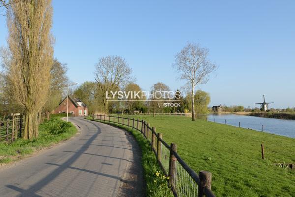 Polderweg Kooiwijk Alblasserdam