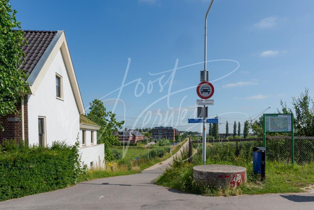 Splitsing buurtschappen Oosteinde en Matena D8101526