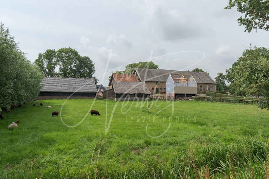 Oude boerderij Noordzijde 51 Oud-Alblas