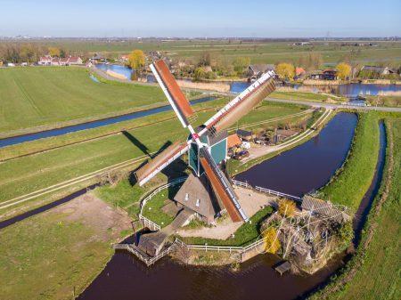 Wingerdse molen in Bleskensgraaf