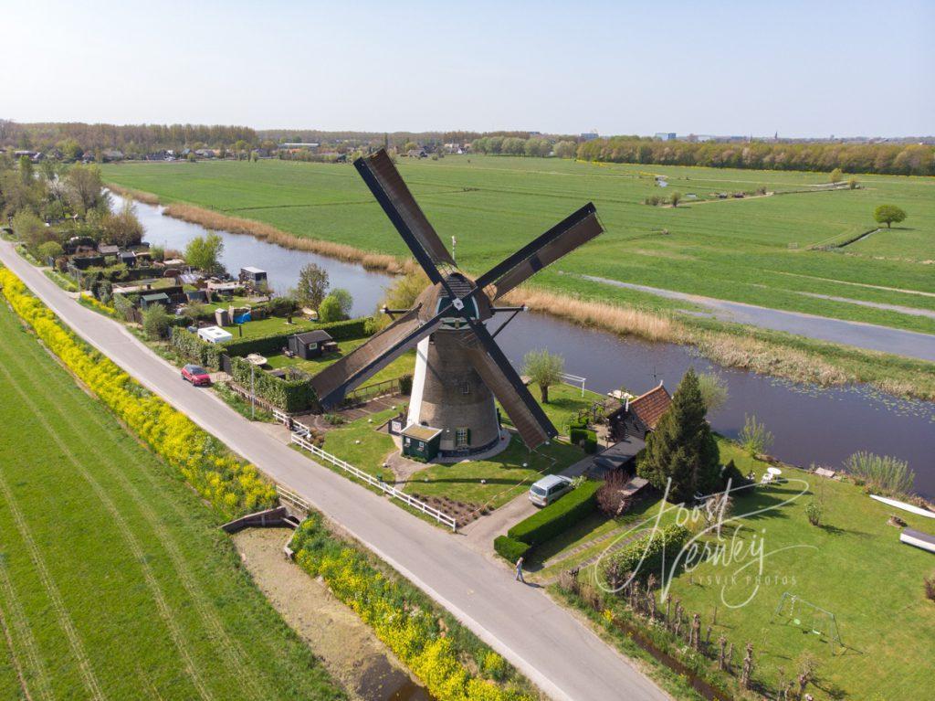 Kooiwijkse molen in Oud-Alblas