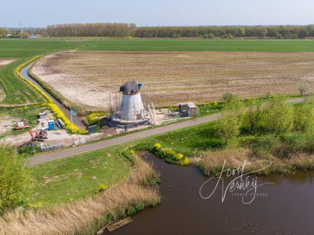 Souburgse molen in herbouw