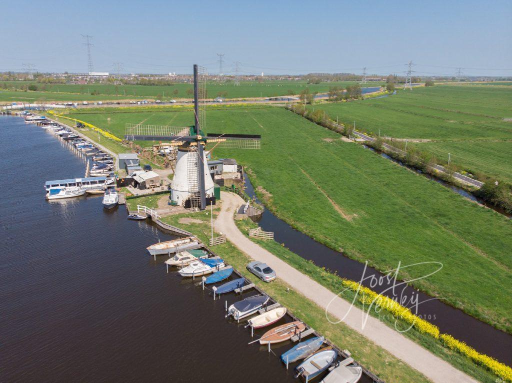 Kortlandse molen in Alblasserdam