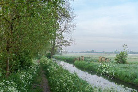 Sfeerbeeld polders bij Achthoven
