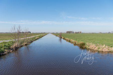 Vliet in polder Kortenbroek