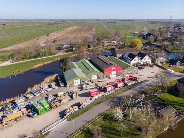 Luchtfoto ESBI Bleskensgraaf