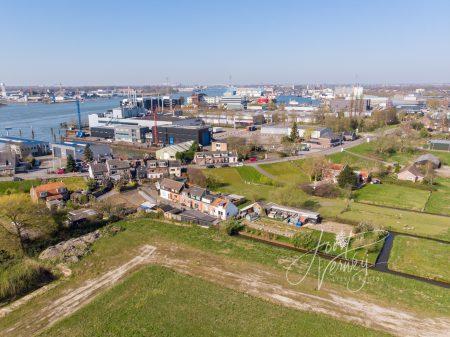 Luchtfoto Baanhoek west Sliedrecht