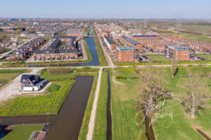 Luchtfoto Oostpolder Papendrecht D00959