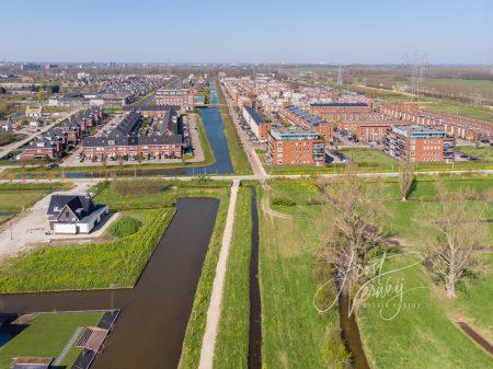 Luchtfoto Oostpolder Papendrecht