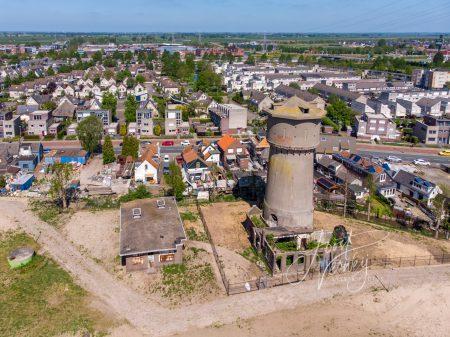 Luchtfoto watertoren Sliedrecht