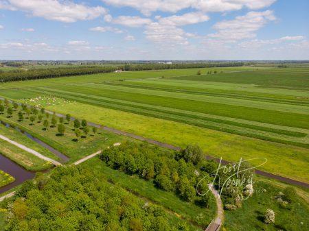Luchtfoto polder Wijngaarden