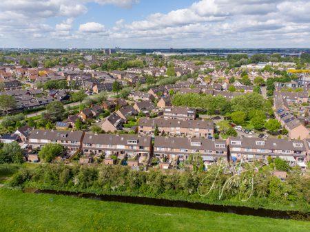 Luchtfoto wijk Molenvliet in Papendrecht