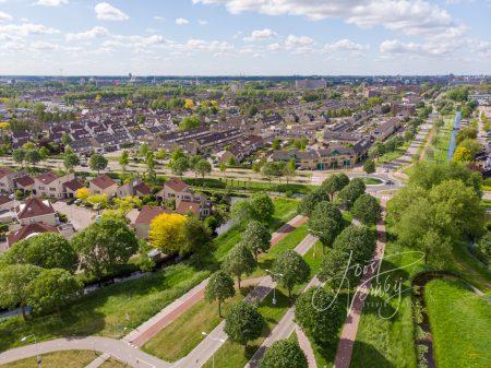 Luchtfoto Veerweg Papendrecht