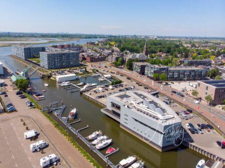 Luchtfoto jachthaven Alblasserdam