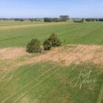 Luchtfoto archeologische vindplaats de Hazendonk