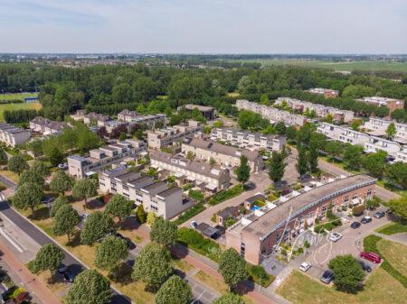 Luchtfoto wijk Oostpolder
