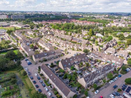 Luchtfoto wijk Wilgendonk