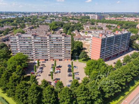 Luchtfoto wijk Middenpolder Papendrecht