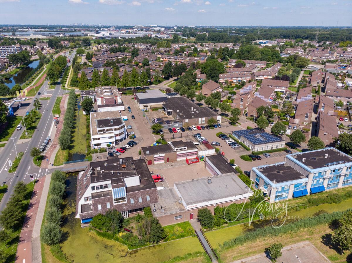 Luchtfoto wijk Molenvliet