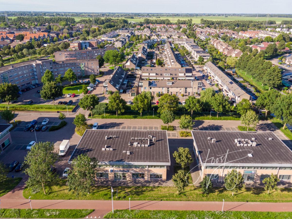 Luchtfoto wijk Wilgendonk Papendrecht
