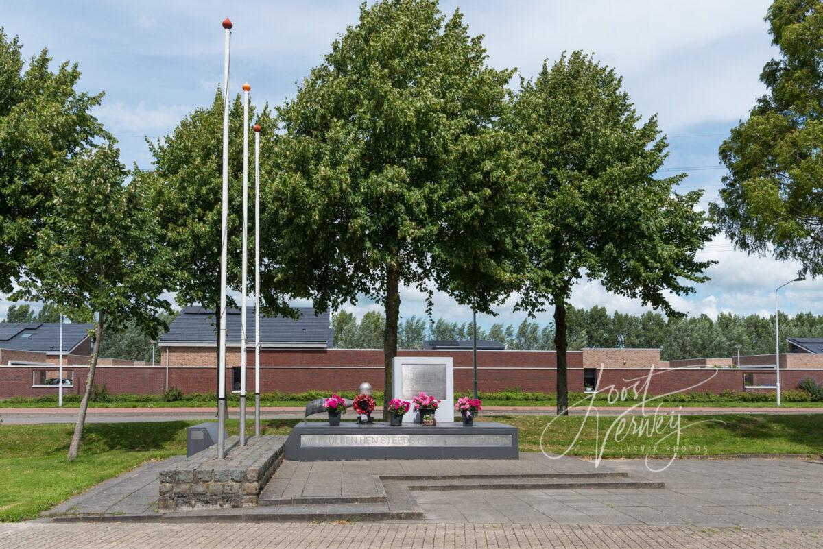 Oorlogsmonument Lancasterplein