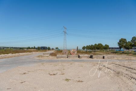 Bouwplaats de Eilanden in Baanhoek-West