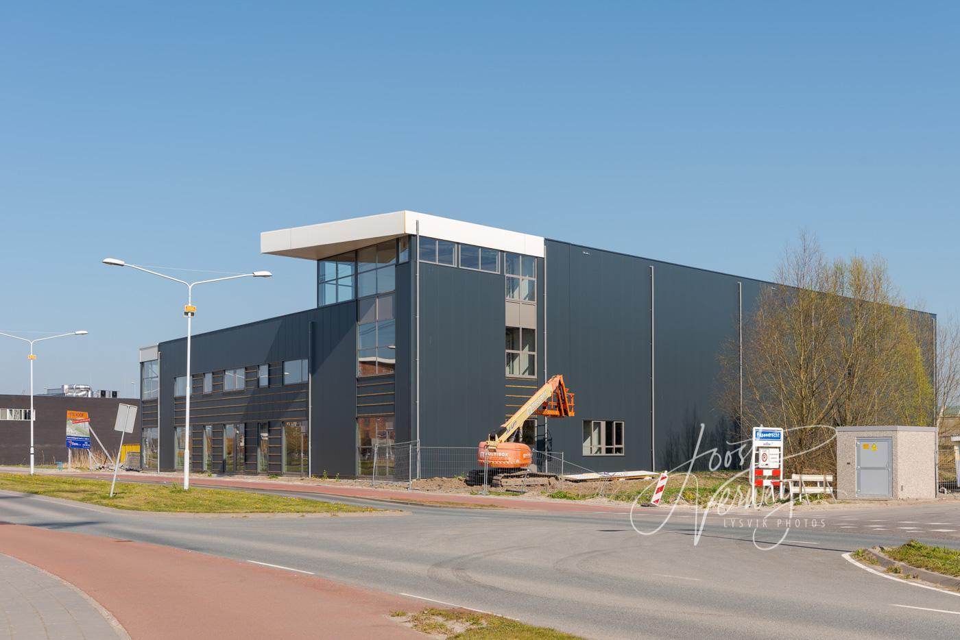 Nieuwbouw op bedrijventerrein Land van Matena D8106489