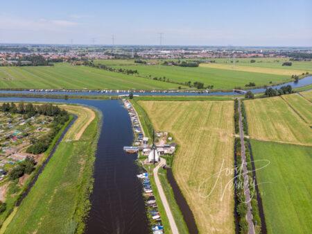 Luchtfoto Kortlandse molen
