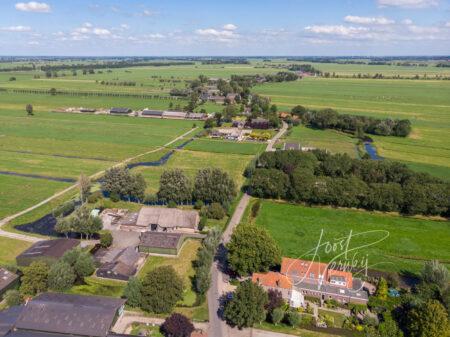 Luchtfoto Wijngaarden