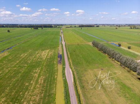 Luchtfoto Wijngaardsesteeg