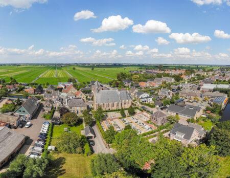 Luchtfoto panorama Molenaarsgraaf