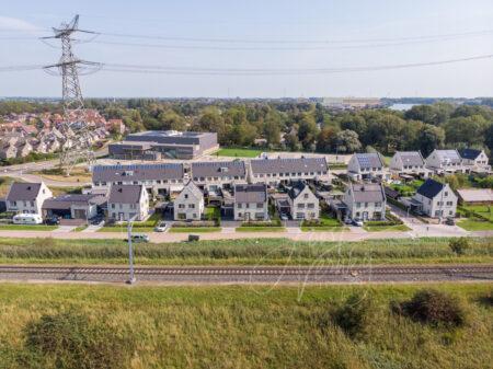 Luchtfoto Baanhoek in Sliedrecht