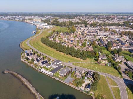Luchtfoto Westeind Papendrecht
