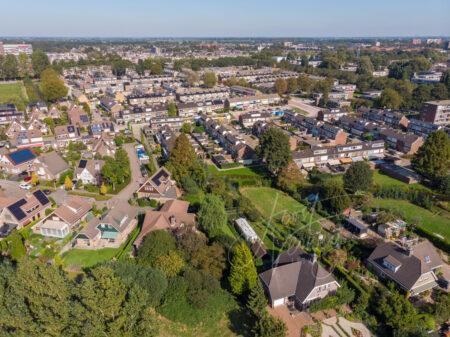 Luchtfoto Westpolder zuid-west kant