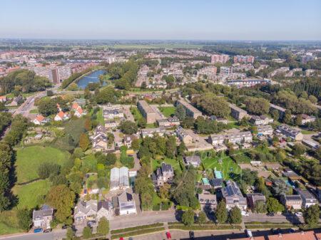 Luchtfoto wijk Middenpolder in Papendrecht