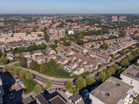 Luchtfoto wijk Kraaihoek