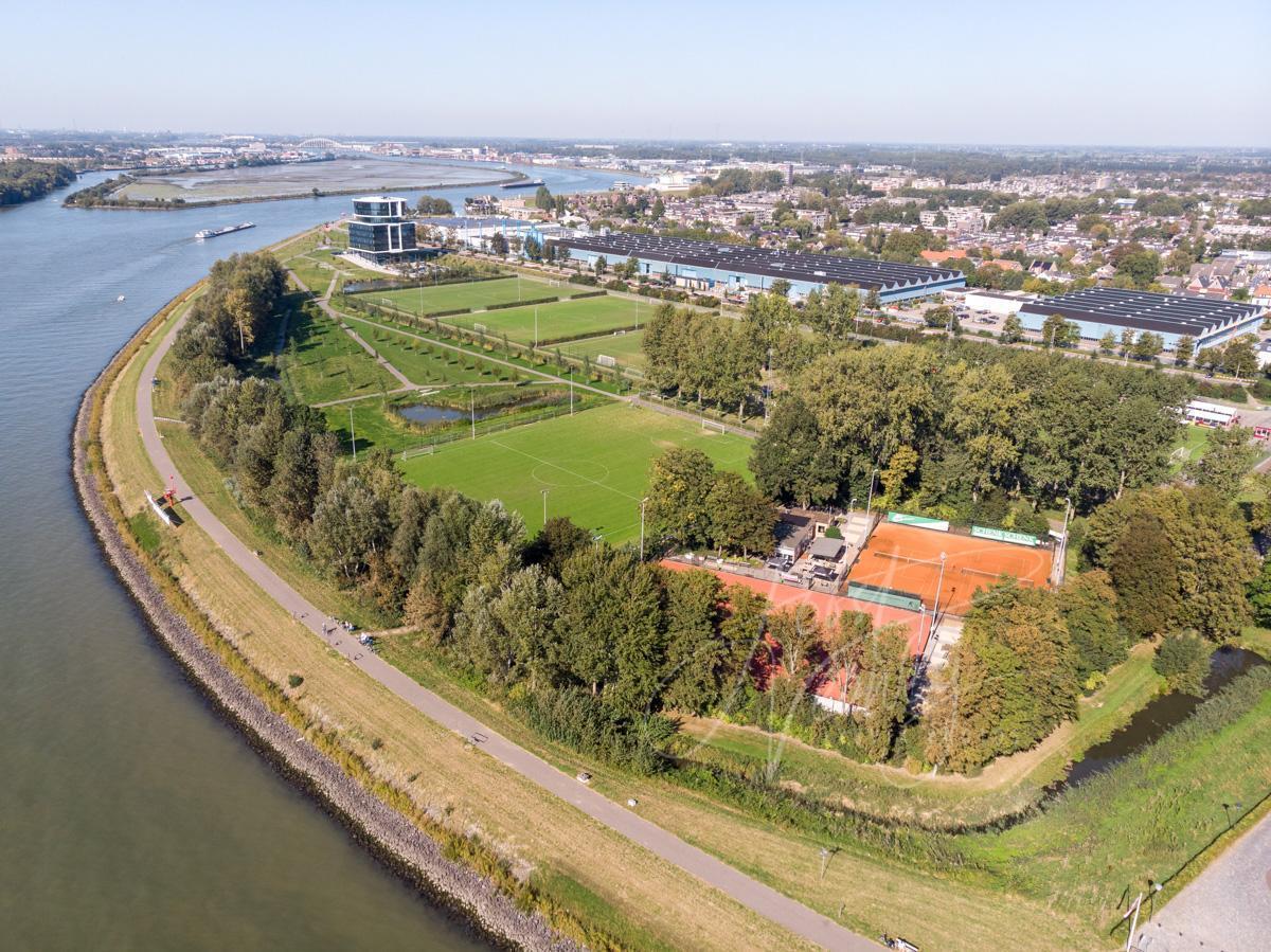 Luchtfoto sportpark Slobbengors