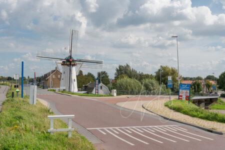 Korenmolen De Regt in Nieuw-Lekkerland