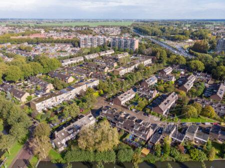 Luchtfoto wijk Middenpolder