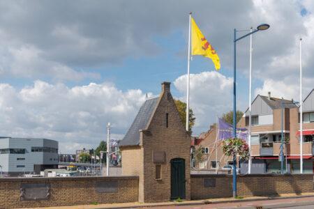 Huisje op de schutsluis in Alblasserdam