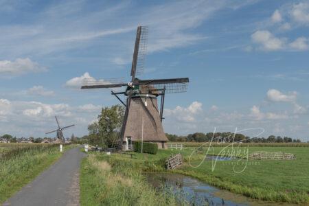 Achtkante molen Streefkerk