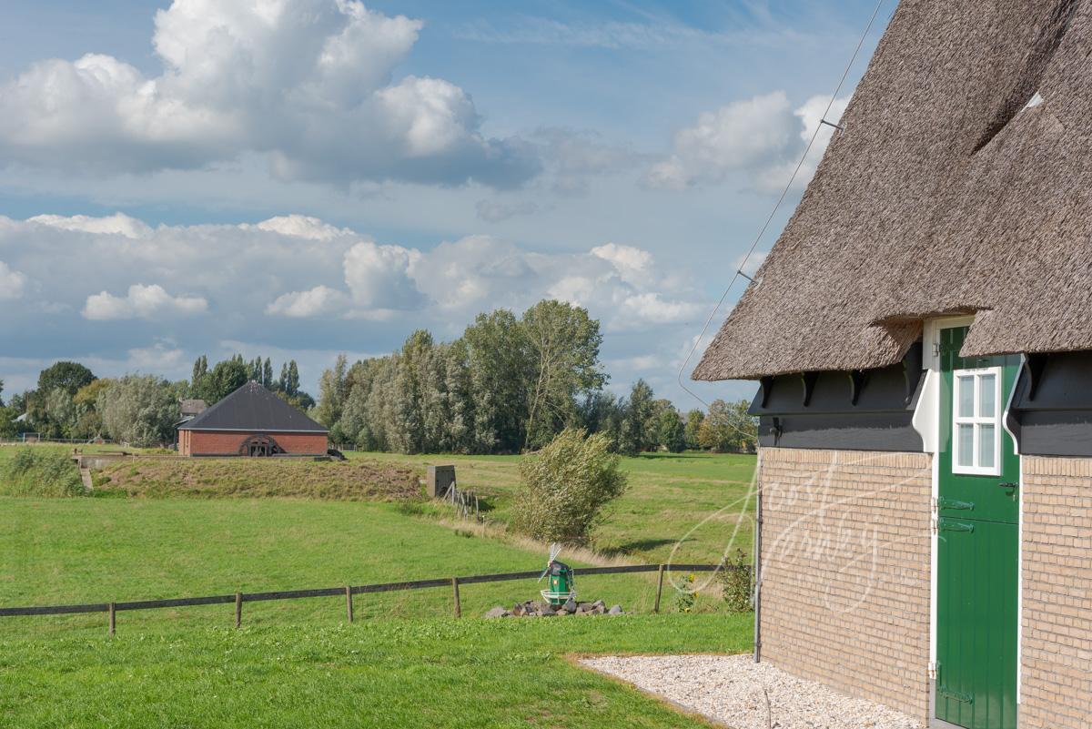 Fundering Sluismolen in Streefkerk