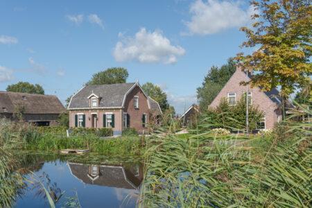 Dorpsgezicht Gijbelandsedijk in Brandwijk
