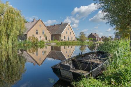 Monumentale boerderijen Gijbelandsedijk in Brandwijk