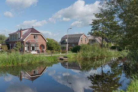 Woningen aan de Gijbelandsedijk in Brandwijk