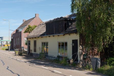 Vervallen woning Baanhoek 485 in Sliedrecht
